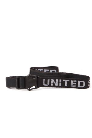 BLACK LOGO COTTON BELT FW 2019 UNITED STANDARD | 12 | 19WUS-BL01141921003
