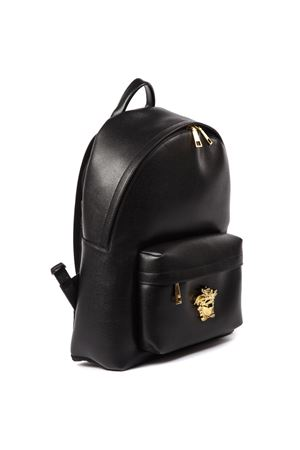 BLACK LEATHER MEDUSA BACKPACK FW 2019 VERSACE | 183 | DFZ5350DCASPD410H