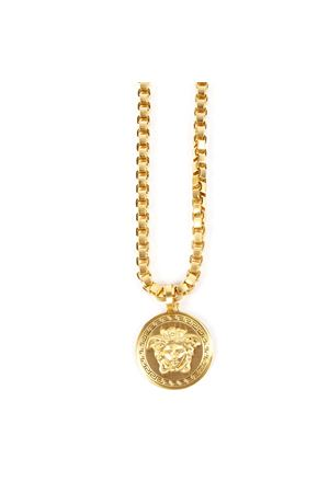GOLD METAL MEDUSA NECKLACE FW 2019 VERSACE | 84 | DG14706DMT1D00HS