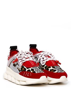 CHAIN REACTION RED COLOR SNEAKERS