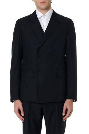 BLACK WOOL DOUBLE BREAST CLASSIC SUIT FW 2019 Z ZEGNA | 21 | 6228362GE7G98