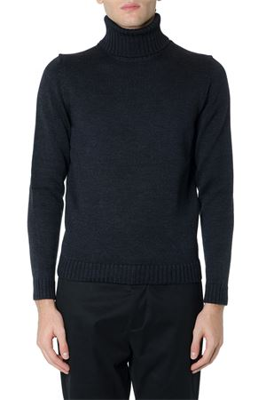 ANTHRACITE COLOR WOOL RIBBED SWEATER FW 2019 ZANONE | 16 | 810005Z0229Z0006