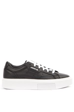SNEAKERS SLEEK SUPER IN PELLE NERA AI 2019 ADIDAS ORIGINALS | 55 | EE4519SLEEK SUPERCBLACK/CBLACK/FTWWHT