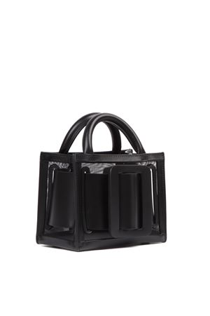 BLACK LEATHER AND MESH BOBBY 16 BAG FW 2019 BOYY | 2 | BOB BY 16 MESH1BLACK