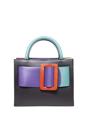 BOBBY 23 COLOR BLOCK LEATHER HANDBAG FW 2019 BOYY | 2 | BOBBY 23COLORBRIGHT