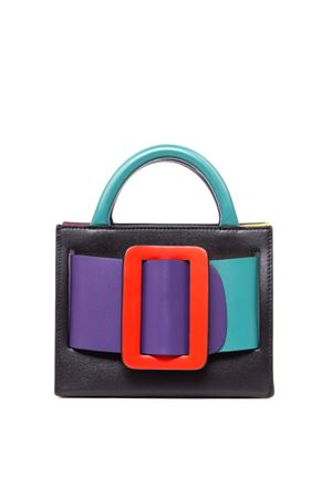BOBBY 18 COLOR BLOCK LEATHER HANDBAG FW 2019 BOYY | 2 | BOBBY181BRIGHT