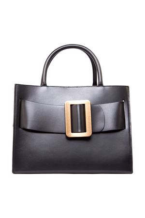 BOBBY 32 BLACK SMOOTH LEATHER HANDBAG FW 2019 BOYY | 2 | BOBBY1BLACK