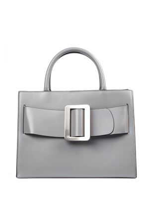 GREY LEATHER BOBBY BAG FW 2019 BOYY | 2 | BOBBY1SMOKE GREY