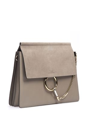 FAYE TAUPE SHOULDER BAG IN LEATHER FW 2019 CHLOÉ | 2 | C17SS231H2OUNI23W