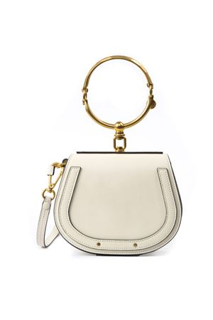 WHITE LEATHER BRACELET NILE BAG FW 2019 CHLOÉ | 2 | C17US301HEUUNI308
