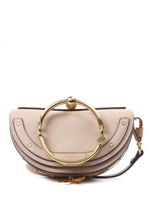 BEIGE LEATHER NILE BAG FW 2019 CHLOÉ | 2 | C17US302H5HUNI268