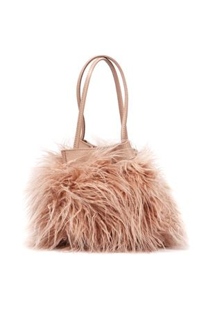 LIGHT PINK MONGOLIA ECO FUR BAG FW 2019 COCCINELLE | 2 | E1 ED8 23 01 01POT MONGOLIA FURP08