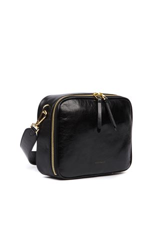BLACK VAGUE SHINY LEATHER MEDIUM BAG FW 2019 COCCINELLE | 2 | E1 EEA 12 01 01VAGUE001