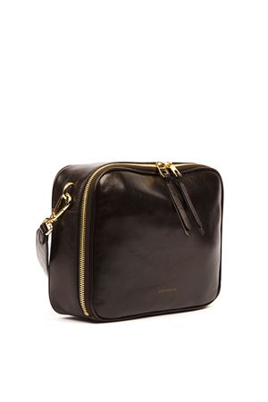 DARK BROWN VAGUE SHINY LEATHER MEDIUM BAG FW 2019 COCCINELLE | 2 | E1 EEA 12 01 01VAGUEW04