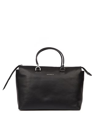 KEYLA BLACK LEATHER BAG FW 2019 COCCINELLE | 2 | E1 EI0 18 01 01KEYLA001