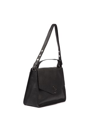 BLACK TARIS MAXI LEATHER BAG FW 2019 COCCINELLE | 2 | E1 EI5 12 02 01TARIS001
