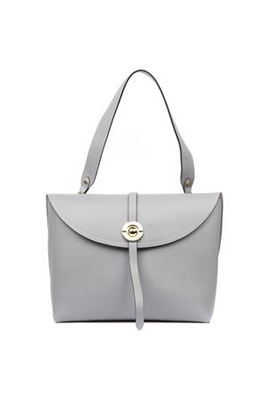 ENDORA GREY LEATHER BAG FW 2019 COCCINELLE | 2 | E1 ENB 12 01 01ENDORAY05