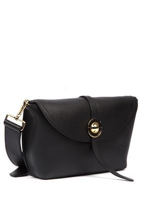 ENDORA SMALL BLACK LEATHER BAG FW 2019 COCCINELLE | 2 | E1 ENB 15 01 01ENDORA001