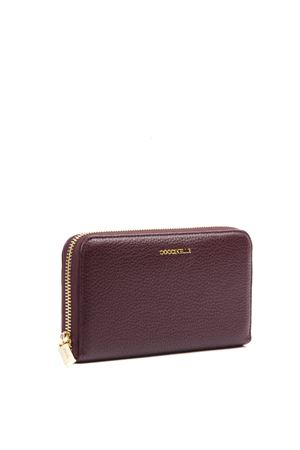 METALLIC SOFT PLUM LEATHER WALLET FW 2019 COCCINELLE | 34 | E2 EW5 11 04 01METALLIC SOFTV21