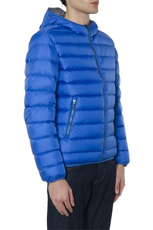 BLUE NYLON HOODED DOWN JACKET FW 2019 COLMAR ORIGINALS | 27 | 12495ST426
