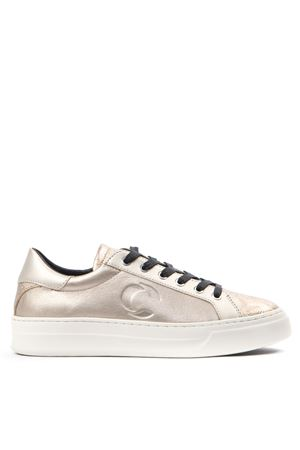 SONIK CHAMPAGNE COLOR LEATHER SNEAKER FW 2019 CRIME LONDON | 55 | 25501AA2BUNI73