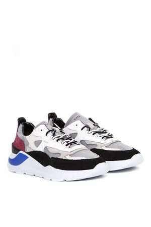 SNEAKERS MESH & LEATHER MULTICOLOR  FW 2019 D.A.T.E. | 55 | M311-FG-MG-LGFUGALIGHT GRAY