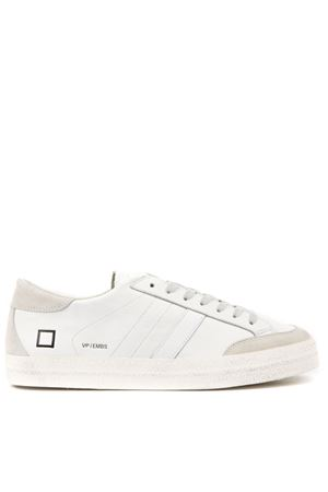 VAMP WHITE LEATHER SNEAKERS FW 2019 D.A.T.E. | 55 | M311-VA-EM-WHVAMPWHITE