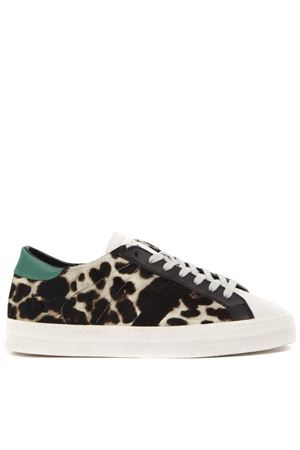 SNEAKERS HILL LOW IN CAVALLINO STAMPA ANIMALIER AI 2019 D.A.T.E. | 55 | W311-HL-AN-LEHILL LOW ANIMALIERLEOPARD