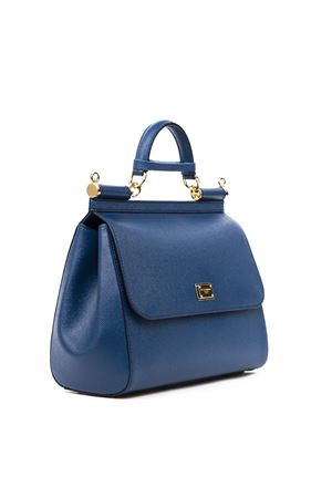 SICILY DAUPHINE BLUE LEATHER BAG FW 2019 DOLCE & GABBANA | 2 | BB6235A100187398.