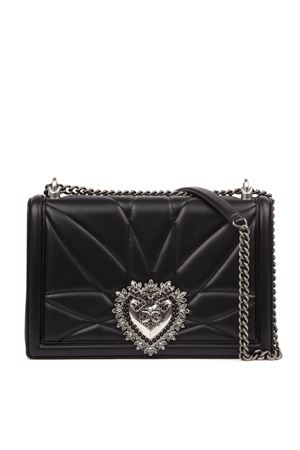 BLACK DEVOTION BAG IN QUILTED NAPPA LEATHER FW 2019 DOLCE & GABBANA | 2 | BB6651AA17280999