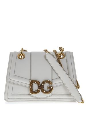 DG AMORE WHITE LEATHER BAG FW 2019 DOLCE & GABBANA | 2 | BB6676AK29580002