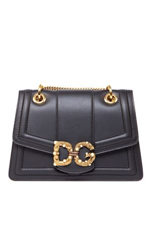 DG AMORE BLACK LEATHER BAG FW 2019 DOLCE & GABBANA | 2 | BB6676AK2968B941