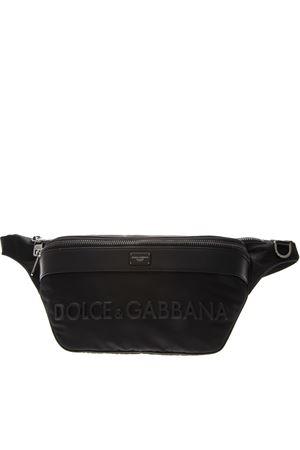 MEDITERRANEAN BLACK NYLON POUCH SS19 DOLCE & GABBANA | 2 | BM1660AZ6758B956