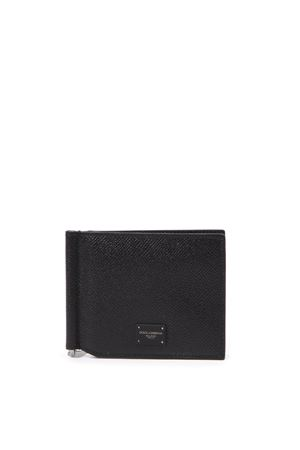 BLACK LEATHER WALLET WITH LOGO FW 2019 DOLCE & GABBANA | 34 | BP1920AZ60280999