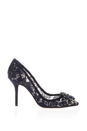 60MM BELLUCCI LACE & SWAROVSKI PUMPS FW2019 DOLCE & GABBANA | 68 | CD0101AL19880652