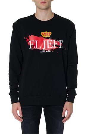 EL JÉFE BLACK COTTON SWEATSHIRT FW 2019 EL JEFE MILANO | 19 | 0025BUNINERO