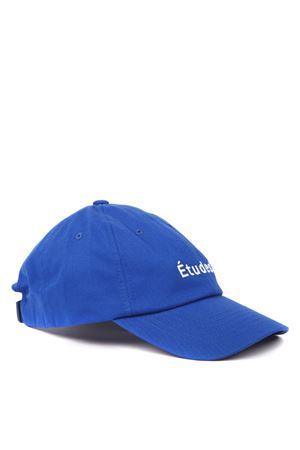 BLUE COTTON HAT WITH LOGO FW 2019 ÉTUDES | 33 | E15B-806-0301BLU