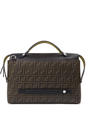 BROWN LOGOED BY THE WAY SATCHEL FW 2019 FENDI | 2 | 7VA458A80ZF17Q0