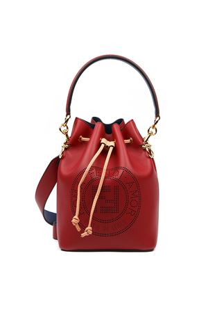 STRAWBERRY LEATHER MON TRESOR BAG FW 2019 FENDI | 2 | 8BT309A7SQF0MVV
