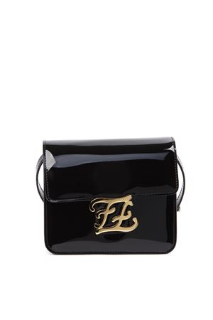 BLACK KARLIGRAPHY BAG IN PATENT LEATHER FW 2019 FENDI | 2 | 8BT317A5AUF0KUR