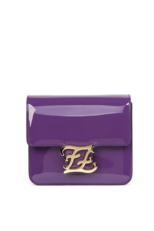 KARLYGRAPHY VIOLET PATENT LEATHER SHOULDER BAG FW 2019 FENDI | 2 | 8BT317A5AUF17P1