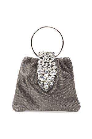 CRYSTAL POUCH DIAMOND GLITTER FABRIC BAG FW 2019 GEDEBE | 2 | SMALL CRYSTALPOUCH LIGHTBLACK