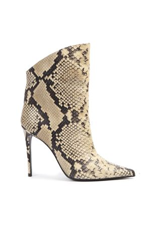 BEIGE VANITY 110 PYTHON LEATHER ANKLE BOOTS FW 2019 GIULIANO GALIANO | 52 | 119-ELISE174175