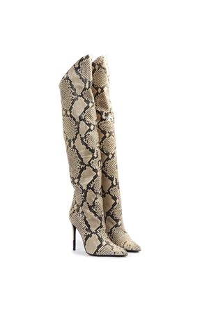 HIGH PYTHON LEATHER BOOTS FW 2019 GIULIANO GALIANO | 52 | 119-ELISE174ROCCIA