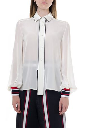 SILK SHIRT WITH SLITS FW 2019 GOLDEN GOOSE DELUXE BRAND | 9 | G35WP0421A3
