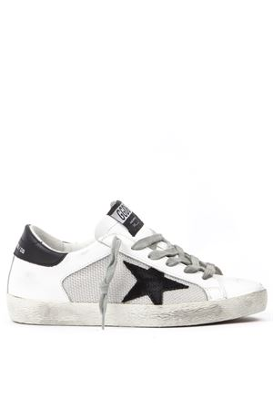 SUPERSTAR WHITE LEATHER SNEAKERS FW 2019 GOLDEN GOOSE DELUXE BRAND | 55 | G35WS5901L26