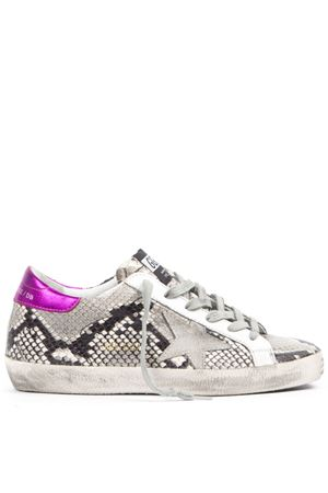 SNAKE PRINTED LEATHER SUPERSTAR SNEAKERS FW 2019 GOLDEN GOOSE DELUXE BRAND | 55 | G35WS5901P41
