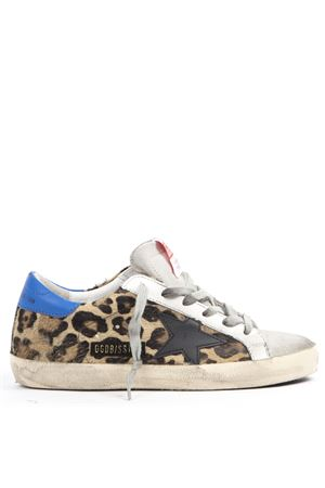 SNEAKERS SUPERSTAR IN PELLE CON STAMPA LEOPARDATA AI 2019 GOLDEN GOOSE DELUXE BRAND | 55 | G35WS5901P85