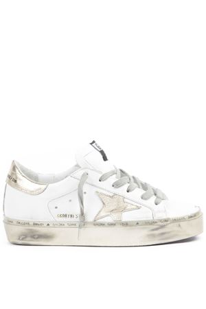 90c96c72b WHITE AND GOLD LEATHER SUPERSTAR SNEAKERS FW 2019 GOLDEN GOOSE DELUXE BRAND  | 55 | G35WS9451H3 ...