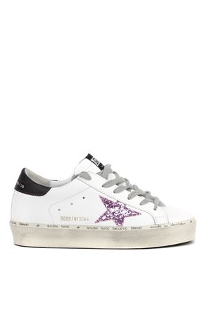 WHITE AND PINK LEATHER SUPERSTAR SNEAKERS FW 2019 GOLDEN GOOSE DELUXE BRAND | 55 | G35WS9451K4
